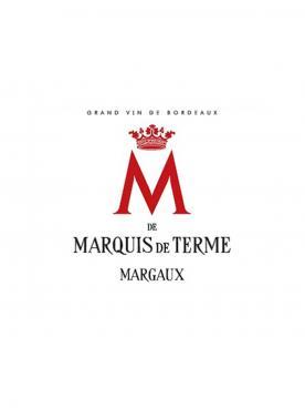 M de Marquis de Terme 2016 6 bouteilles (6x75cl)