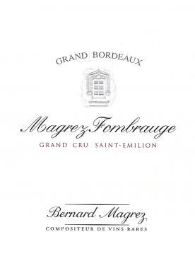 Magrez Fombrauge 2018 Caisse bois d'origine de 6 bouteilles (6x75cl)