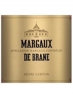 Margaux de Brane 2017 6 bouteilles (6x75cl)