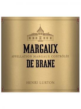 Margaux de Brane 2016 6 bouteilles (6x75cl)