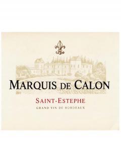 Marquis de Calon 2011 Caisse bois d'origine de 12 bouteilles (12x75cl)
