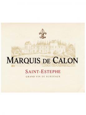 Marquis de Calon 2015 Caisse bois d'origine de 12 bouteilles (12x75cl)