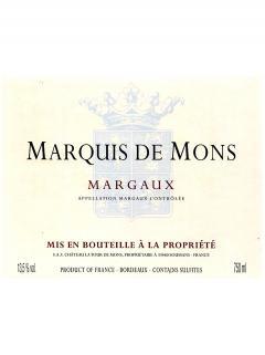 Marquis de Mons 2014 6 bouteilles (6x75cl)