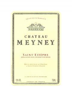 Château Meyney 2012 Caisse bois d'origine de 6 bouteilles (6x75cl)