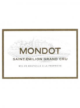 Mondot 2007 Caisse bois d'origine de 12 bouteilles (12x75cl)