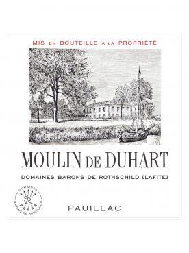 Moulin de Duhart 2008 12 bouteilles (12x75cl)