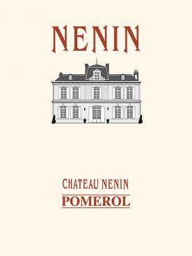 Château Nenin 1992 Caisse bois d'origine de 12 bouteilles (12x75cl)