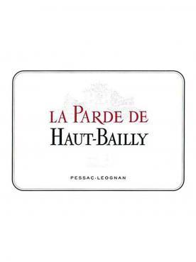 La Parde de Haut-Bailly 2015 Caisse bois d'origine de 12 bouteilles (12x75cl)