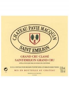 Château Pavie Macquin 2014 Caisse bois d'origine de 6 bouteilles (6x75cl)