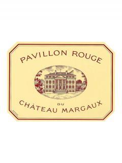 Pavillon Rouge du Château Margaux 2010 Caisse bois d'origine de 12 bouteilles (12x75cl)