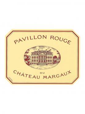 Pavillon Rouge du Château Margaux 1996 Caisse bois d'origine de 12 bouteilles (12x75cl)
