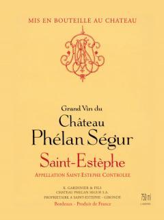 Château Phélan Ségur 2011 Caisse bois d'origine de 12 bouteilles (12x75cl)