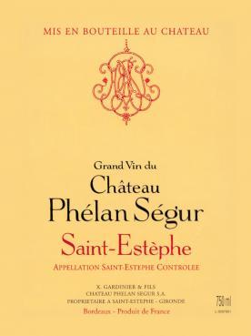 Château Phélan Ségur 2013 Caisse bois d'origine de 12 bouteilles (12x75cl)