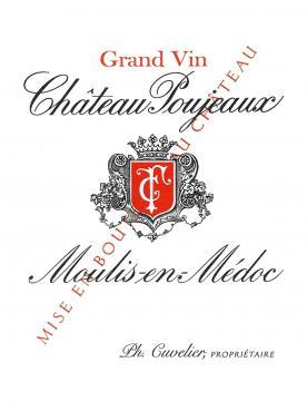 Château Poujeaux 2014 Caisse bois d'origine de 6 bouteilles (6x75cl)