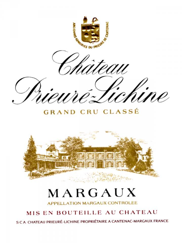 Château Prieuré-Lichine 2012 Caisse bois d'origine de 6 bouteilles (6x75cl)