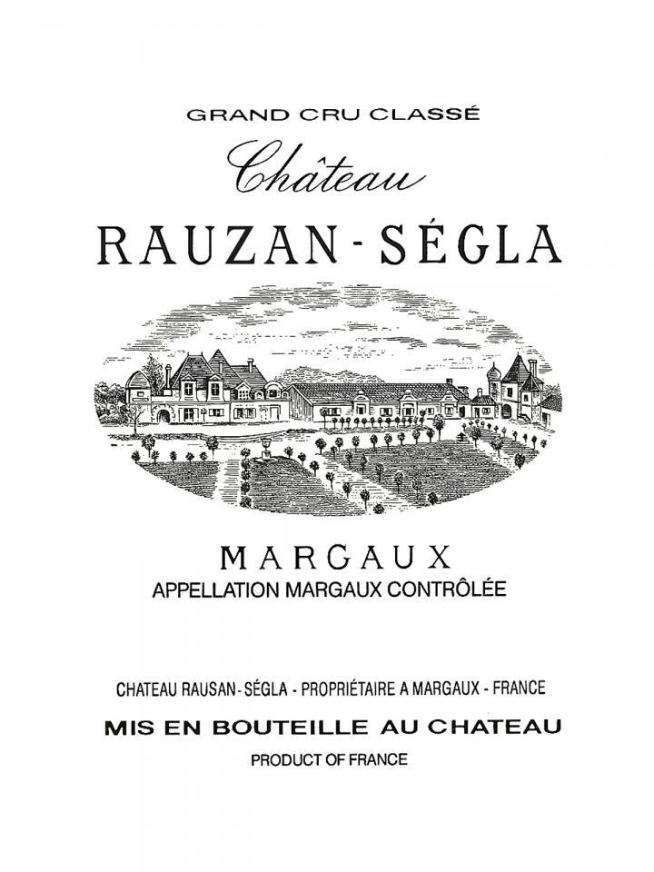 Château Rauzan-Ségla 2001 Caisse bois d'origine de 12 bouteilles (12x75cl)