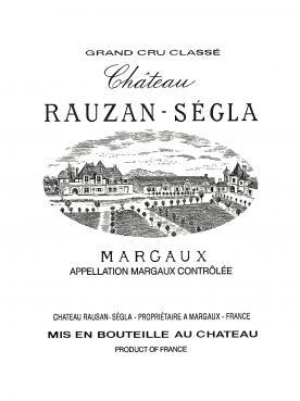 Château Rauzan-Ségla 2012 Caisse bois d'origine de 6 magnums (6x150cl)