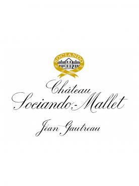 Château Sociando-Mallet 2015 Caisse bois d'origine de 12 bouteilles (12x75cl)