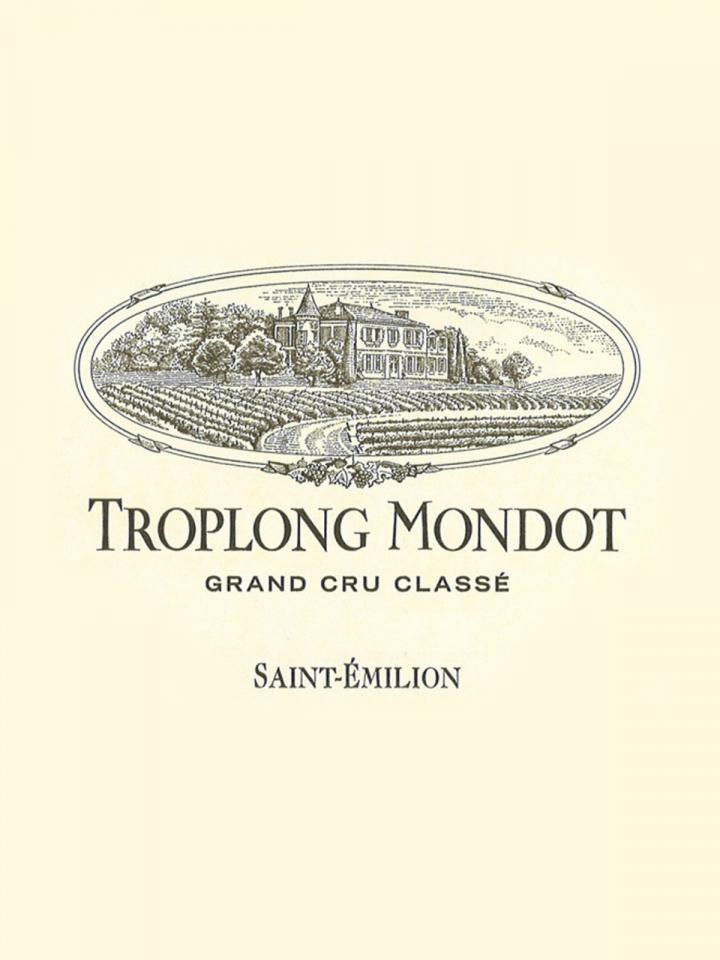 Château Troplong Mondot 2012 Caisse bois d'origine de 12 bouteilles (12x75cl)