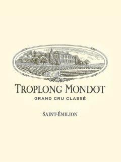 Château Troplong Mondot 2016 Caisse bois d'origine de 6 bouteilles (6x75cl)