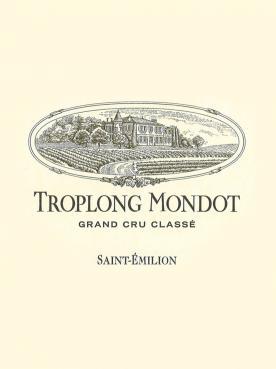 Château Troplong Mondot 1998 Caisse bois d'origine de 12 bouteilles (12x75cl)