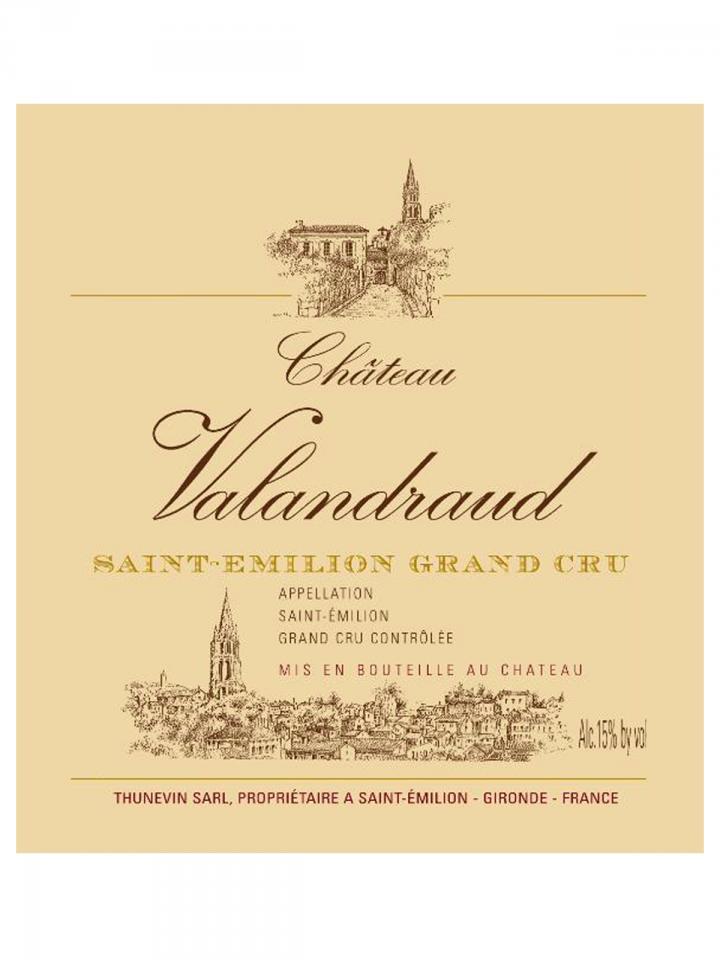Château Valandraud 2006 Caisse bois d'origine de 12 bouteilles (12x75cl)