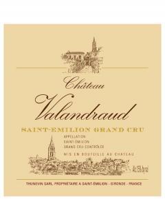 Château Valandraud 2012 Caisse bois d'origine de 12 bouteilles (12x75cl)