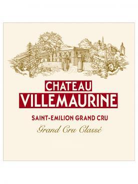Château Villemaurine 2001 12 demi bouteilles (12x37.5cl)