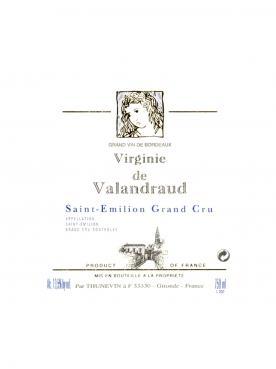 Virginie de Valandraud 2017 Caisse bois d'origine de 12 bouteilles (12x75cl)