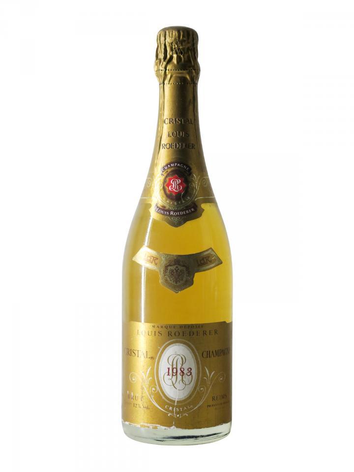 Champagne Louis Roederer Cristal Brut 1983 Bouteille (75cl)