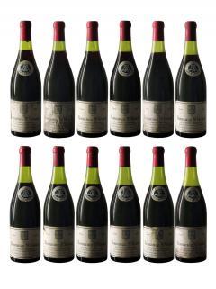 Romanée-Saint-Vivant Grand Cru Louis Latour 1955 12 bouteilles (12x75cl)