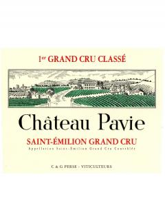 Château Pavie 2010 Caisse bois d'origine de 6 bouteilles (6x75cl)