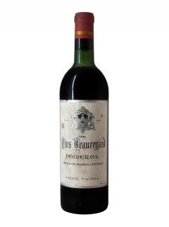 Clos Beauregard 1961 Bouteille (75cl)