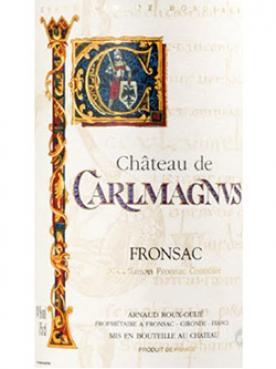 Château de Carlmagnus 2018 Bouteille (75cl)