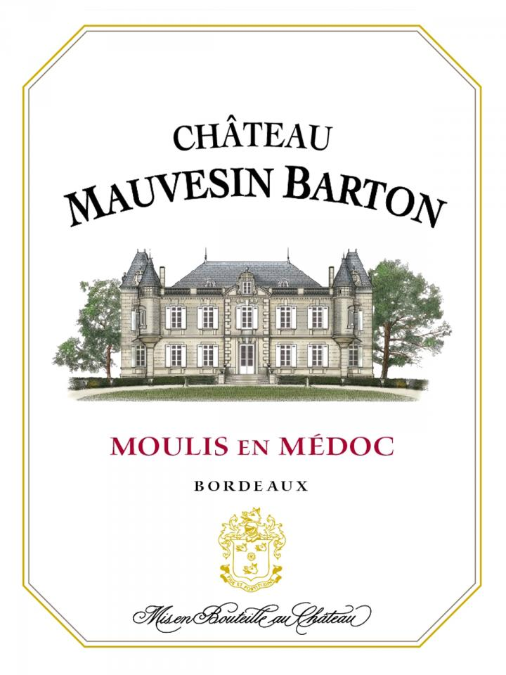 Château Mauvesin Barton 2013 Caisse bois d'origine de 6 bouteilles (6x75cl)