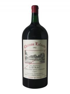 Château Lalande 1982 Caisse bois d'origine d'un jéroboam (1x500cl)