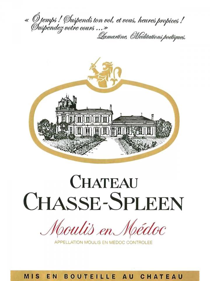 Château Chasse-Spleen 2012 Caisse bois d'origine de 6 bouteilles (6x75cl)