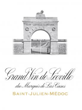 Château Léoville Las Cases 1983 Caisse bois d'origine de 3 bouteilles (3x75cl)