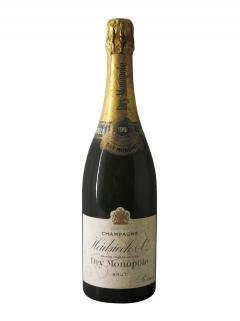 Champagne Heidsieck C° Dry Monopole Brut 1961 Bouteille (75cl)