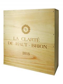 La Clarté de Haut Brion 2015 Caisse bois d'origine de 3 magnums (3x150cl)