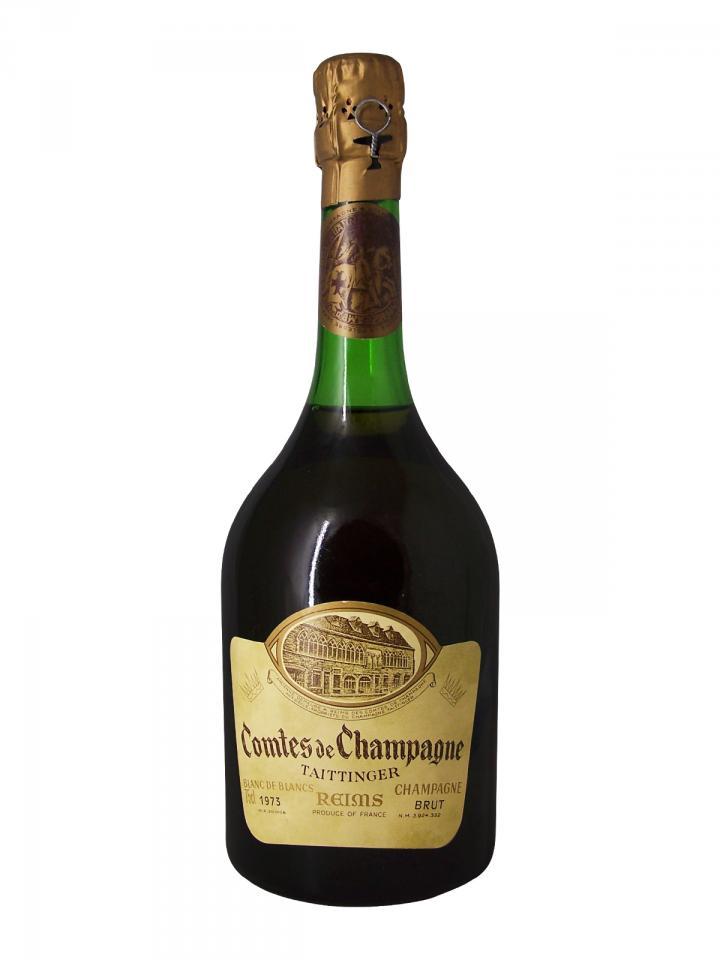 Champagne Taittinger Comtes de Champagne Blanc de Blancs Brut 1973 Bouteille (75cl)