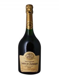 Champagne Taittinger Comtes de Champagne Blanc de Blancs Brut 1990 Bouteille (75cl)
