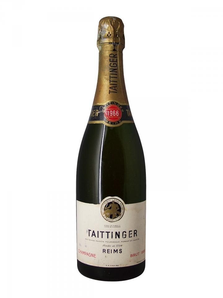 Champagne Taittinger Brut 1966 Bouteille (75cl)