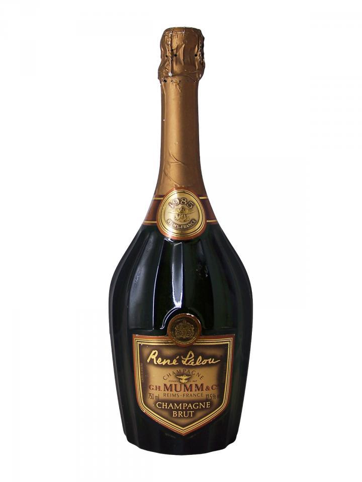Champagne Mumm René Lalou Brut 1985 Bouteille (75cl)