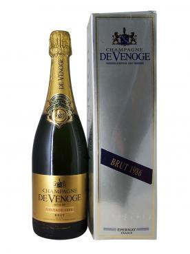 Champagne De Venoge Brut 1986 Coffret d'une bouteille (75cl)