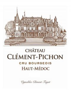Château Clément-Pichon 2012 Caisse bois d'origine de 12 demi bouteilles (12x37.5cl)