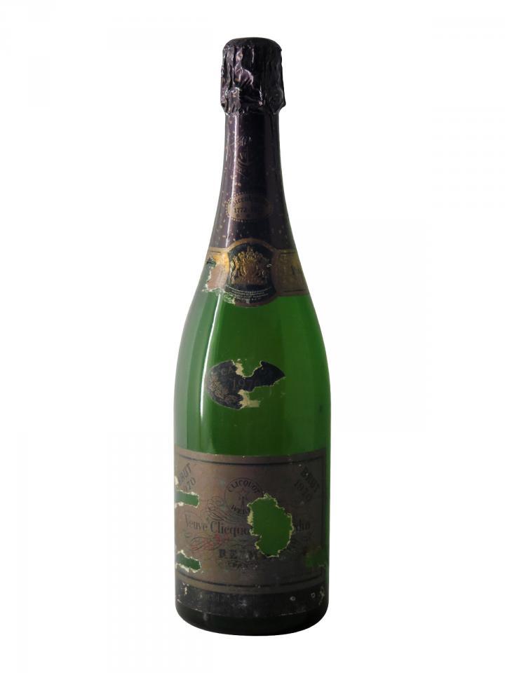 Champagne Veuve Clicquot Ponsardin Rosé Brut 1970 Bouteille (75cl)