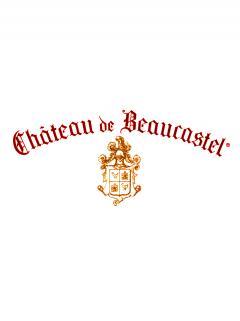 Châteauneuf-du-Pape Château de Beaucastel Hommage à Jacques Perrin 2014 Caisse bois d'origine de 3 bouteilles (3x75cl)