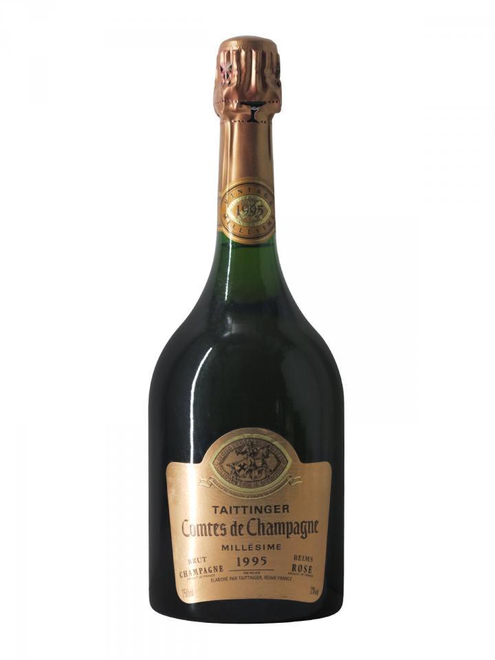 Champagne Taittinger Comtes de Champagne Rosé Brut 1995 Bouteille (75cl)