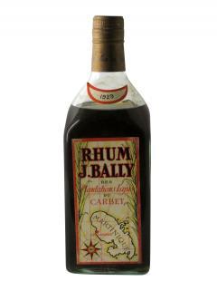 Rhum Plantations Lajus du Carbet J. Bally 1929 Bouteille (70cl)